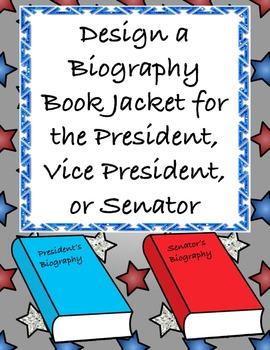 Biography Book Jacket for a President, Senator, etc. - A C
