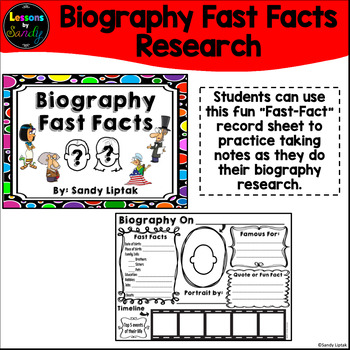 Biography Fast Facts