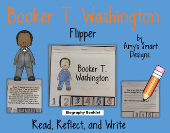 Biography Flipper: Booker T. Washington