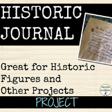 Journal Project for Any Unit
