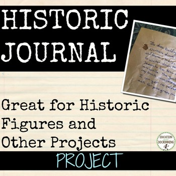 Historic Figure or Biography Journal Research Project
