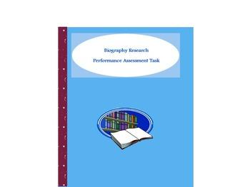 Biography Performance Assessment Task
