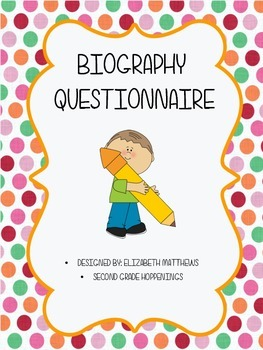 Biography Questionnaire