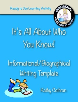 Biography Report: It's All About Who You Know! Information