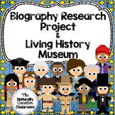 Biography Research Unit Bundle:  Anchor Charts, Examples,