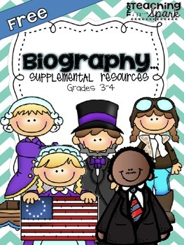 Biography Resources for Grades 3-4