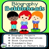 All About Me or Biography Writing Template Craft