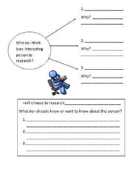 Biography packet!  Common Core Aligned, complete packet, s