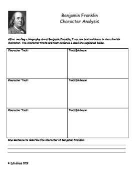 Biography character analysis
