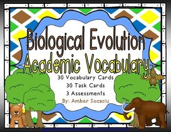 Biological Evolution and Heredity Academic Vocabulary Work