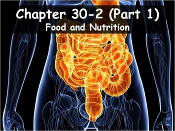 Biology - 30.2 (Part 1) Food and Nutrition PPT and Guided Notes