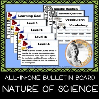 Biology Essential Resources Bulletin Board - Nature of Science