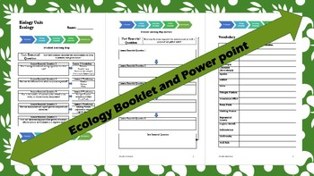Biology: Ecology Powerpoint & Student Booket