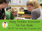 Biology Formative Assessment (Warm Up/Ticket Out) Full Yea
