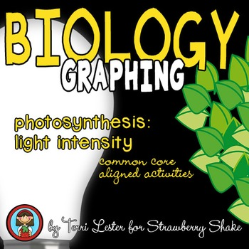 Biology GRAPHING Practice:  Photosynthesis:  Light Intensi
