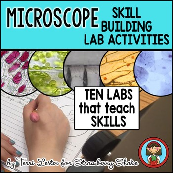 Biology Lab MICROSCOPE Labs that Develop SKILLS:  Staining