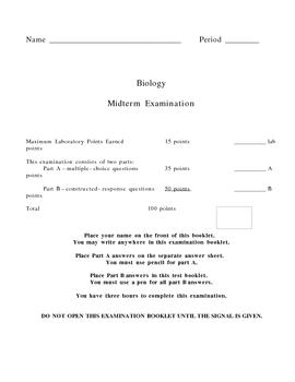 Biology Midterm