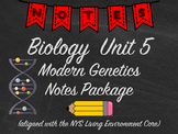 Biology Modern Genetics Notes Package Aligned with NYS Liv