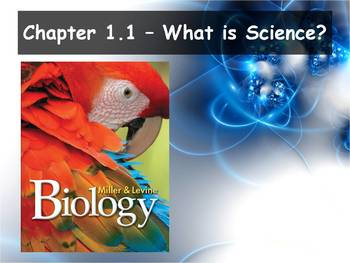 Biology - (1.1 What is Science? Powerpoint and Guided Notes)