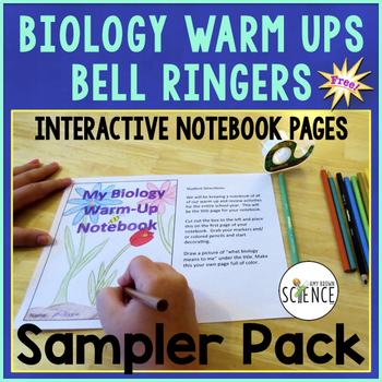 Free Download Biology Warm Ups  Bell Ringers  Interactive