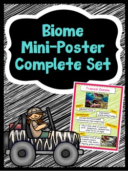 Biomes of the World Posters - Complete Set