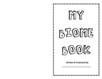 Biome and Environment Book