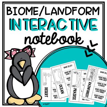 Biome/Landform Interactive Flip Book
