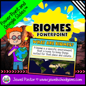 Biomes Activities (Biomes PowerPoint)