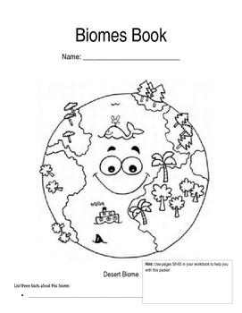 Biomes Activity Book