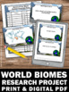 Biomes of the World BUNDLE of Earth Science Center Activit