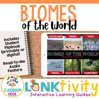 Biomes {Digital Learning Guide and Flipbook}