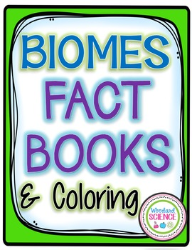 Biomes Fact Books Coloring Foldables