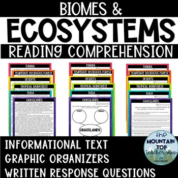 Biomes and Ecosystems Reading Comprehension Passages