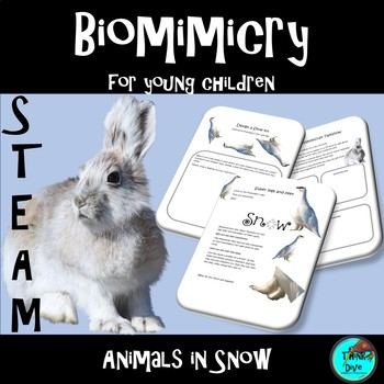 STEM - Biomimicry for Young Children - Animals in Snow