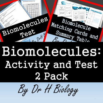 Biomolecule 2 Pack Combo - 2 Resources in one!
