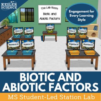 Biotic and Abiotic Factors Student-Led Station Lab