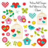 Bird and Butterfly Clipart