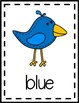 Bird Theme Color Posters