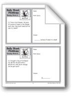 Bird Feeder (Grade 3 Daily Word Problems-Week 11)