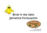 Bird Nest Sentence Formulation