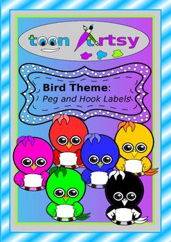 Bird Theme Name Tags