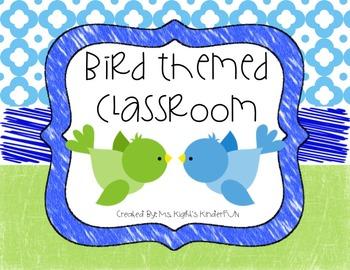 Bird Themed Classroom