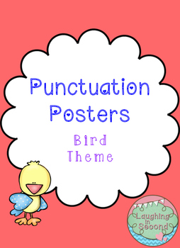 Bird Themed - Punctuation Posters
