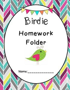 Birdie Homeowork Folder