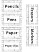 Birds & Bricks Classroom Labels *Editable