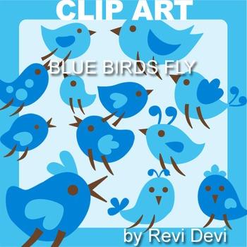 Birds Clip Art - Free Digital Clipart