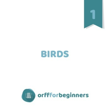 Birds: Learning about half notes and La