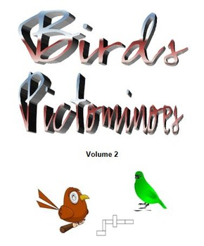 Birds Pictominoes  Volume 2