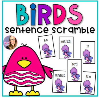 Birds Sentence Scramble- Non Fiction