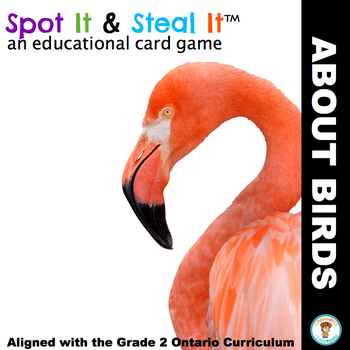 Birds Spot It & Steal It (Ontario Curriculum - GROWTH AND